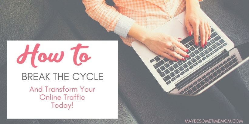 lady-typing-on-keyboard-generate-blog-traffic