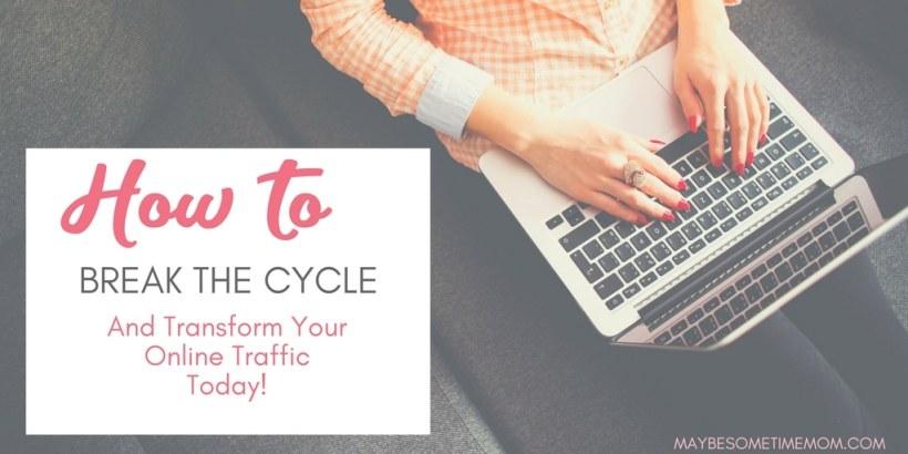 lady-typing-on-keyboard-generate-blog-traffic